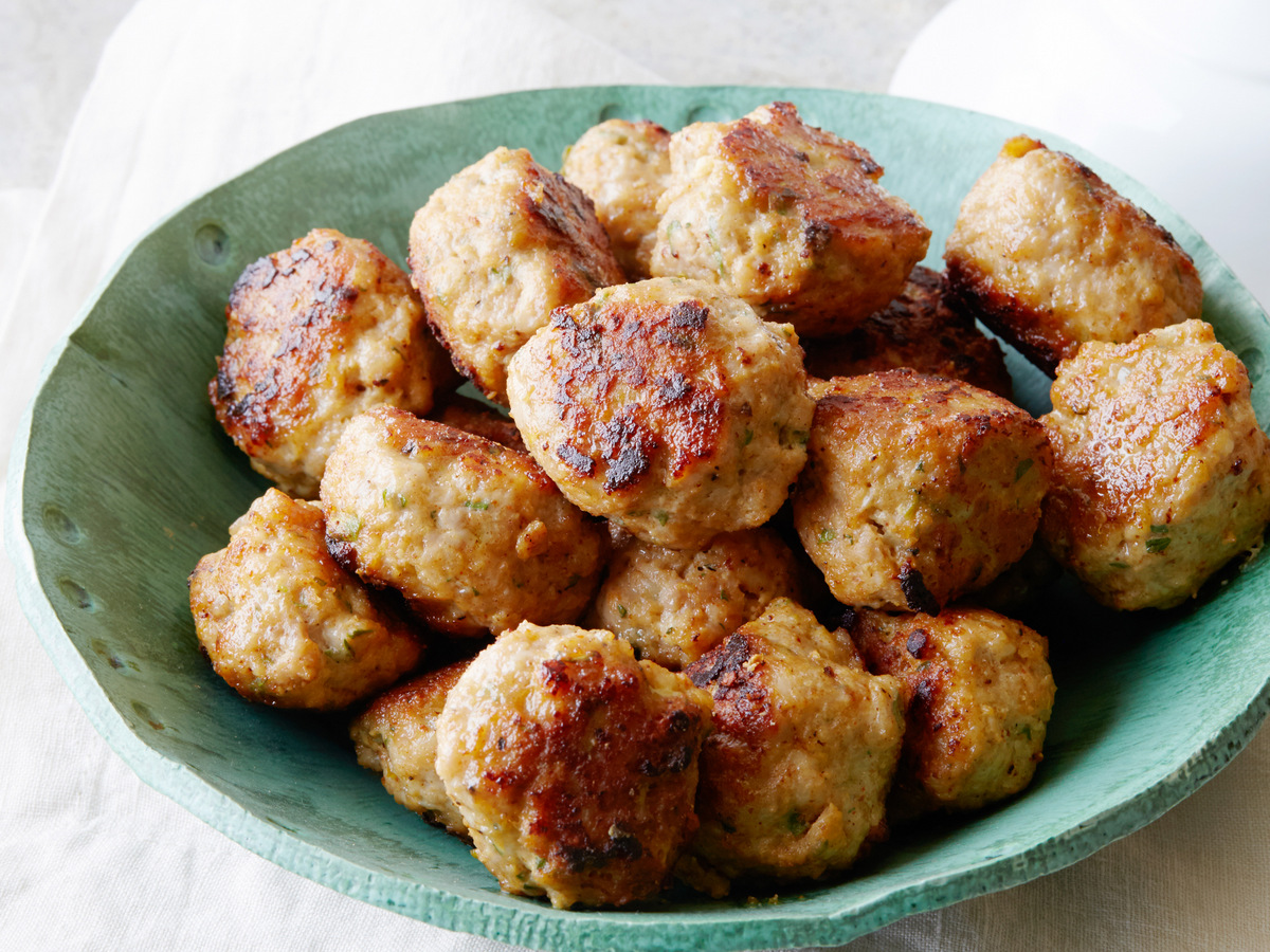 ZESTY CHICKEN MEATBALLS, Sunny Anderson, Cooking For Real/Hungry and ...